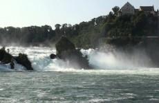 شلالات الراين السويسرية الرائعة