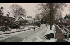 Giethoorn Winter – شتاء قيثرون الهولندية