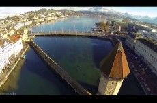 لوزيرن تصوير جوي رائع Lucerne | Luzern | Switzerland