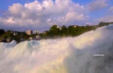 شلالات الراين سويسرا Rhine Falls, Schaffhausen, Switzerland
