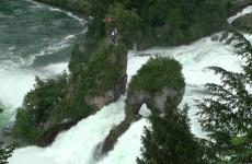 The Rhine Falls, Switzerland شلالات الراين السويسرية