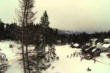الثلوج على قمم لوزيرن