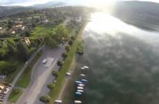 Caslano اطلالة على بحيرة لوجانو
